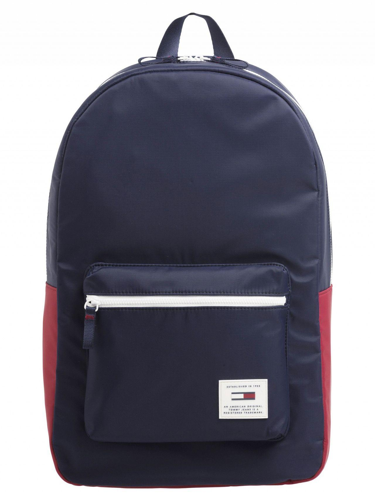 6c51e2b8348c9a Tommy Hilfiger Urban Tech Backpack in Blue for Men - Save 37% - Lyst