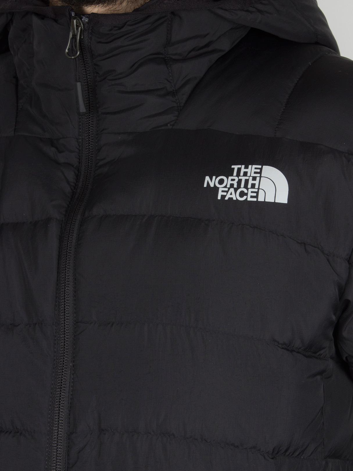 The North Face - Black Paz Hooded Logo Puffa Jacket for Men - Lyst. View  fullscreen 8142ae049