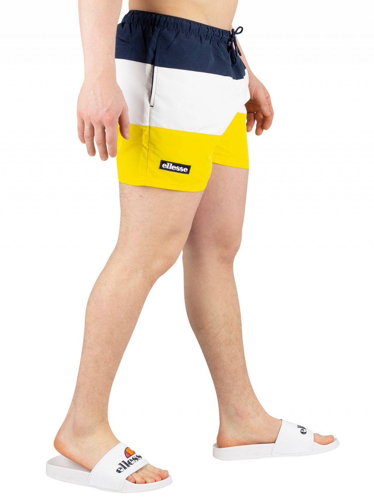 a852963df4 Ellesse Yellow Cielo Swimshorts in Yellow for Men - Save 34% - Lyst