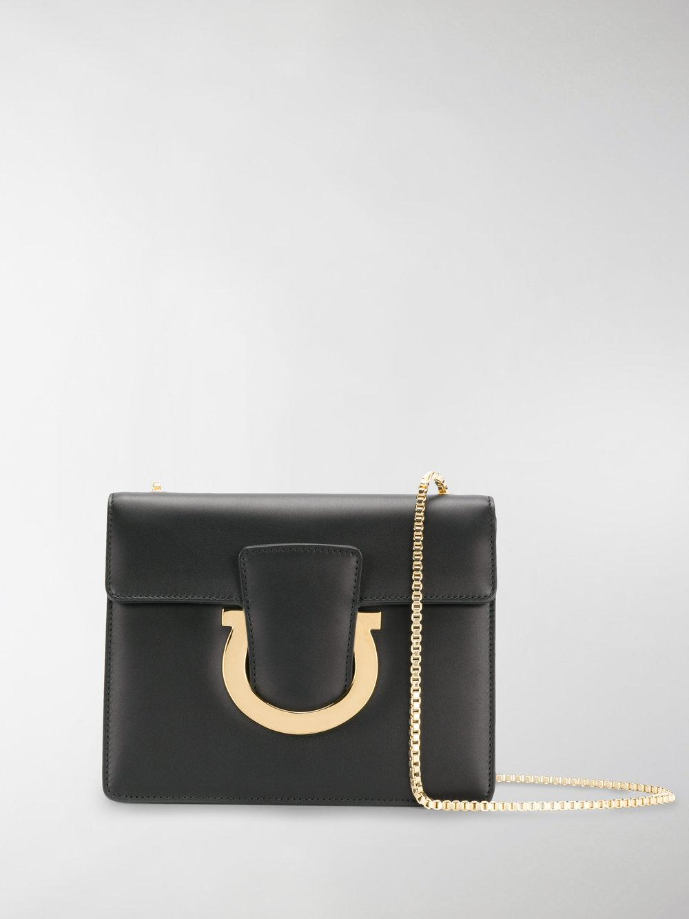 6b589c11fdd9 Lyst - Ferragamo  sabine  Crossbody Bag in Black - Save 15%