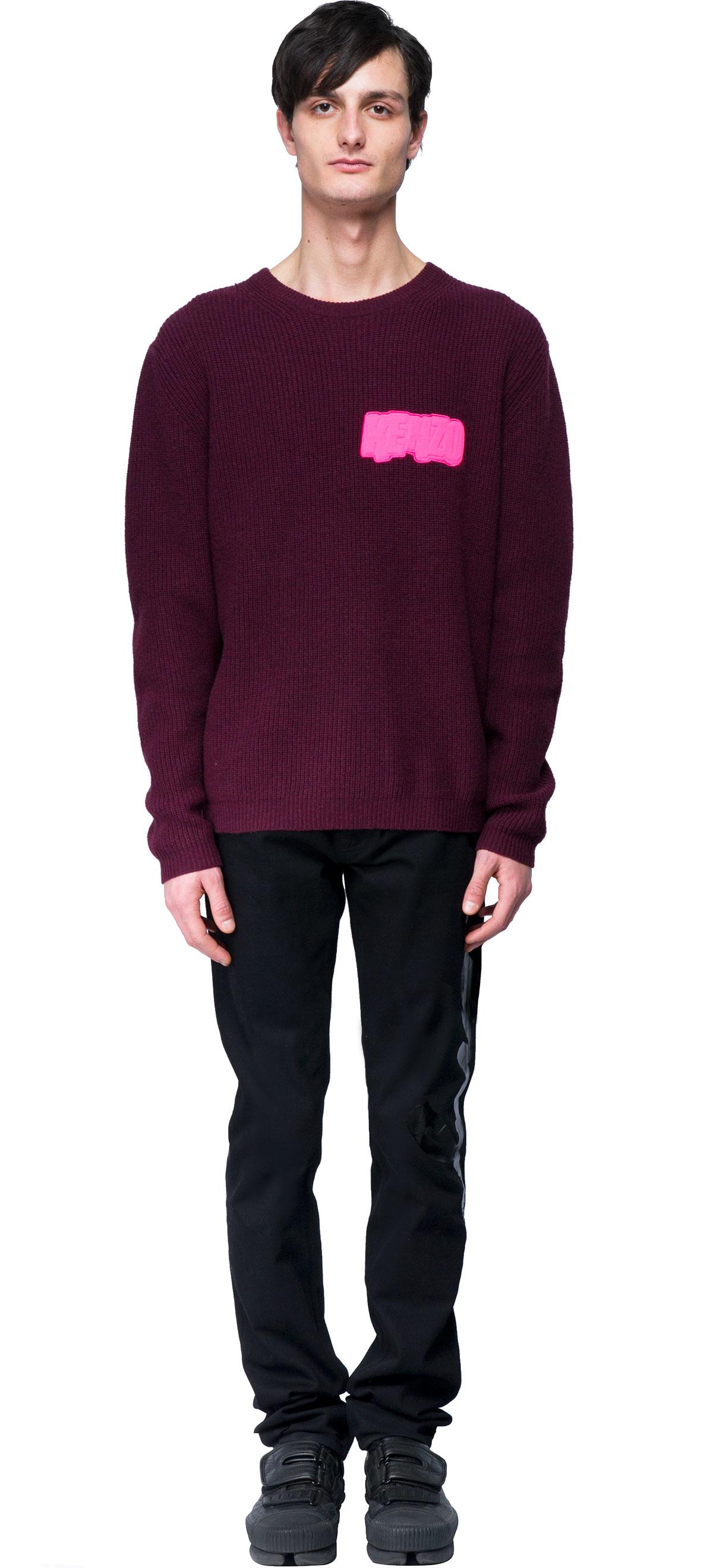 Purple Sweater For Men 11
