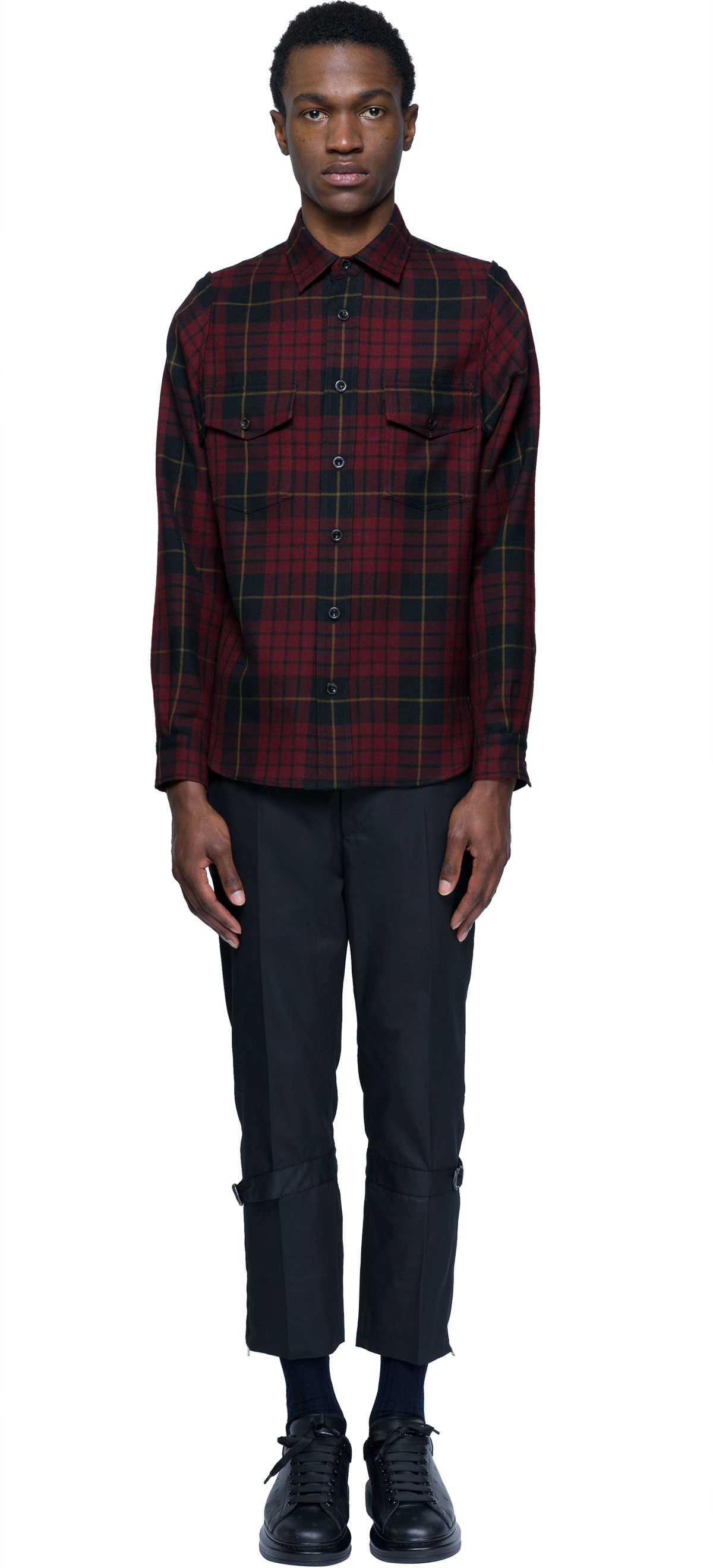 Alexander mcqueen Tartan Shirt in Multicolor for Men