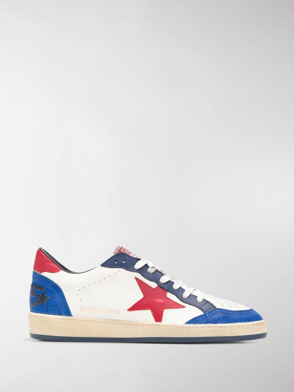 f86a1d7afa058 Lyst - Golden Goose Deluxe Brand Ball Star Sneakers in White for Men