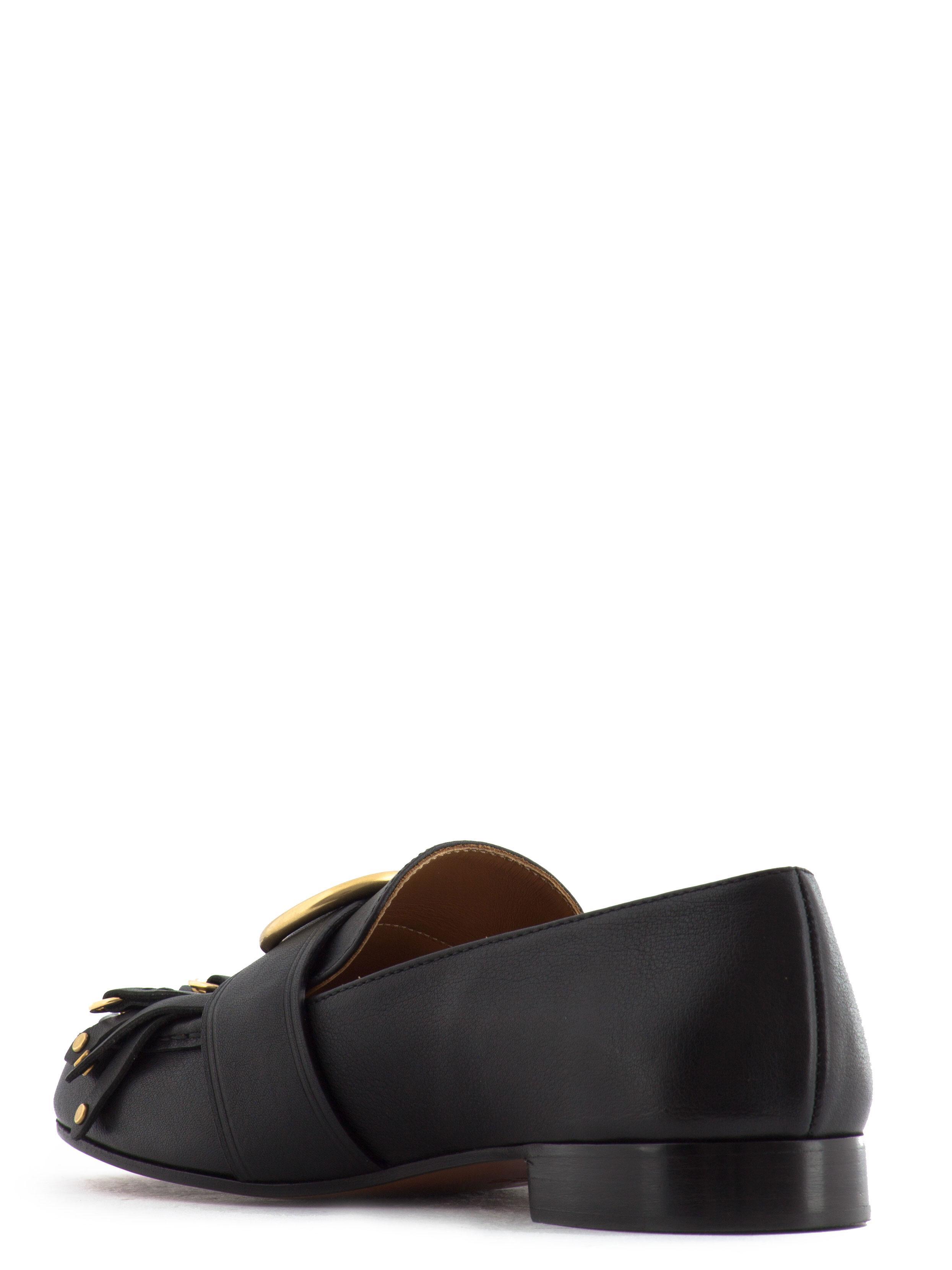 Chloé Black Nocturnal Loafers upfLq7u