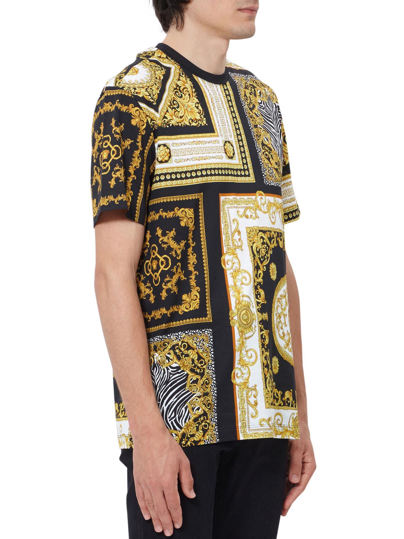 signature print blouse - Black Versace Cheap Sale Latest Collections wszCn