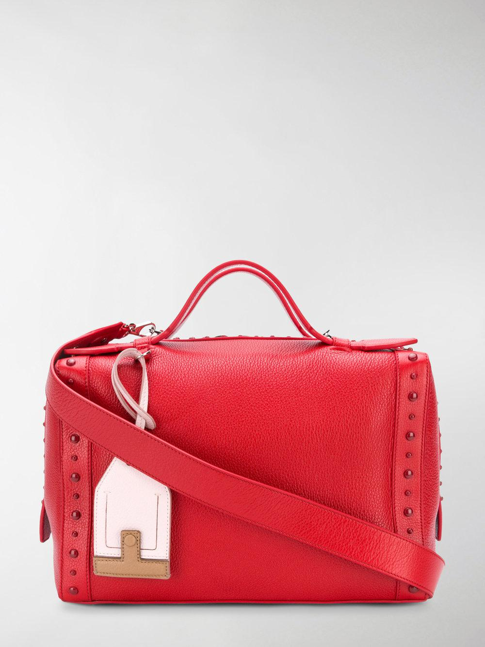 ad91728ac18d Lyst - Tod S Gommino Medium Bag in Red
