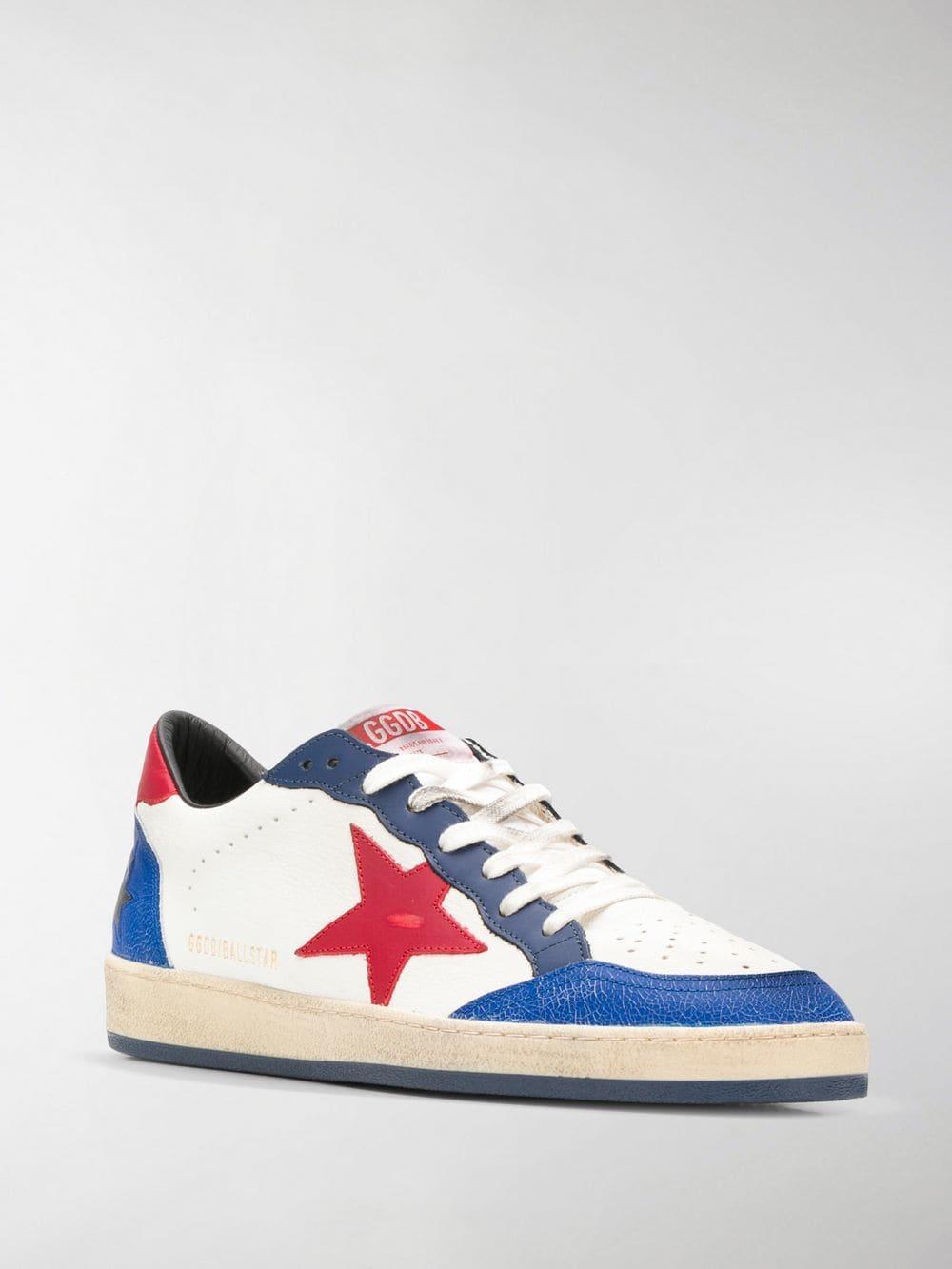 1d35c121ae688 Golden Goose Deluxe Brand - White Ball Star Sneakers for Men - Lyst. View  fullscreen