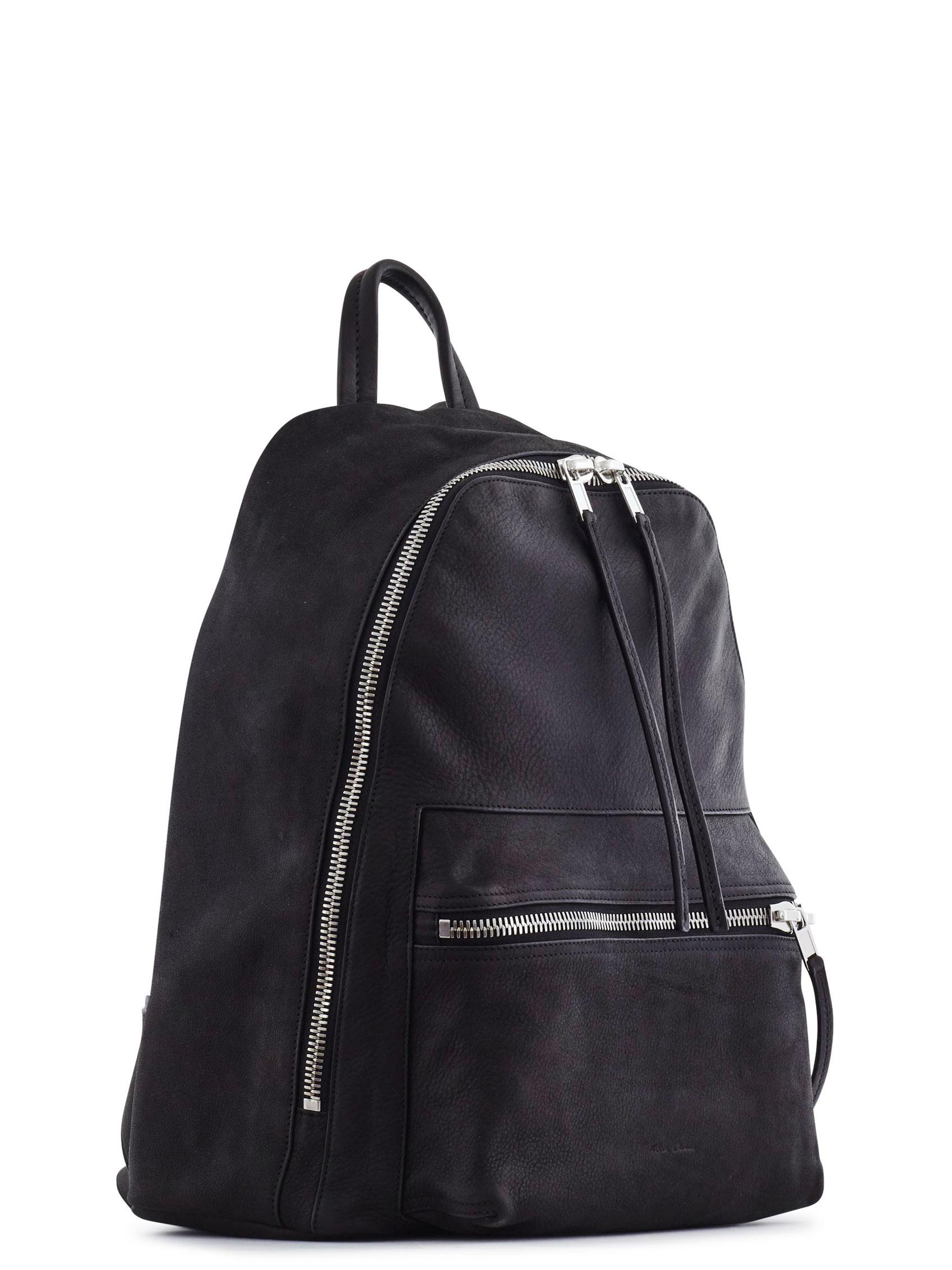 Mini leather backpack Rick Owens lY47Ph