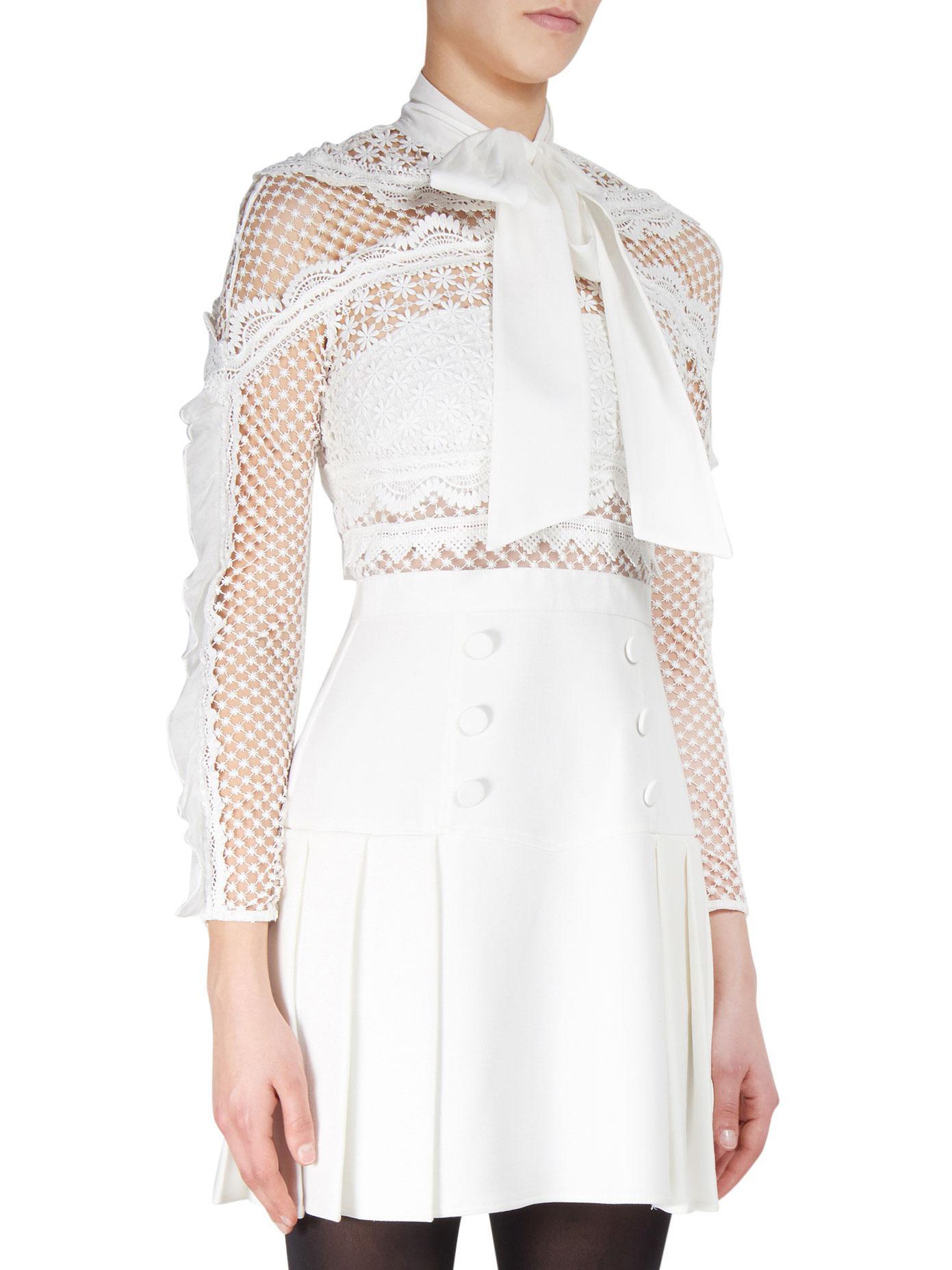 c6ddd63270e6 Bellis Lace Trim Dress With Full Skirt | Saddha