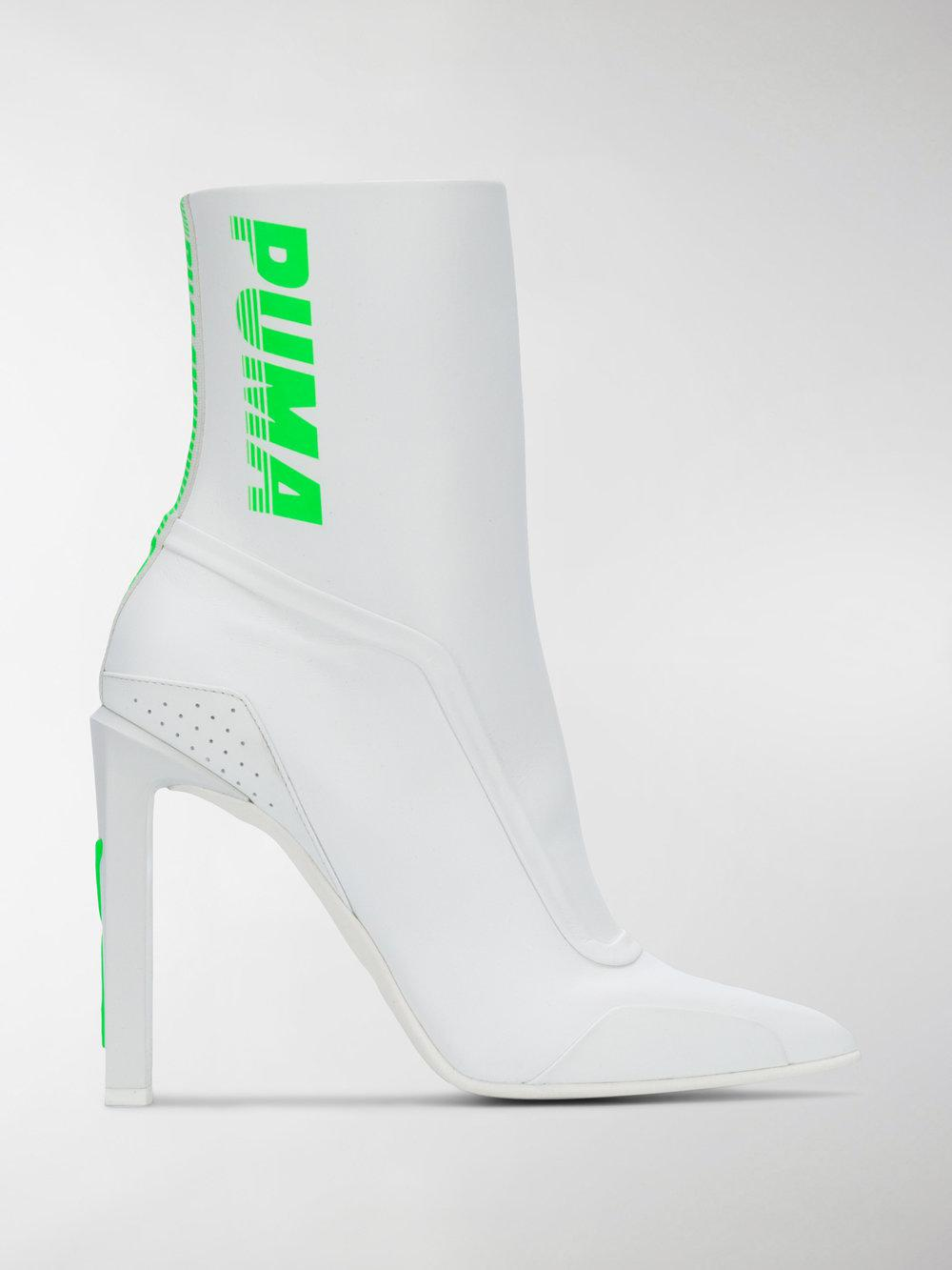 Puma Logo print ankle boots yllflGS0uE