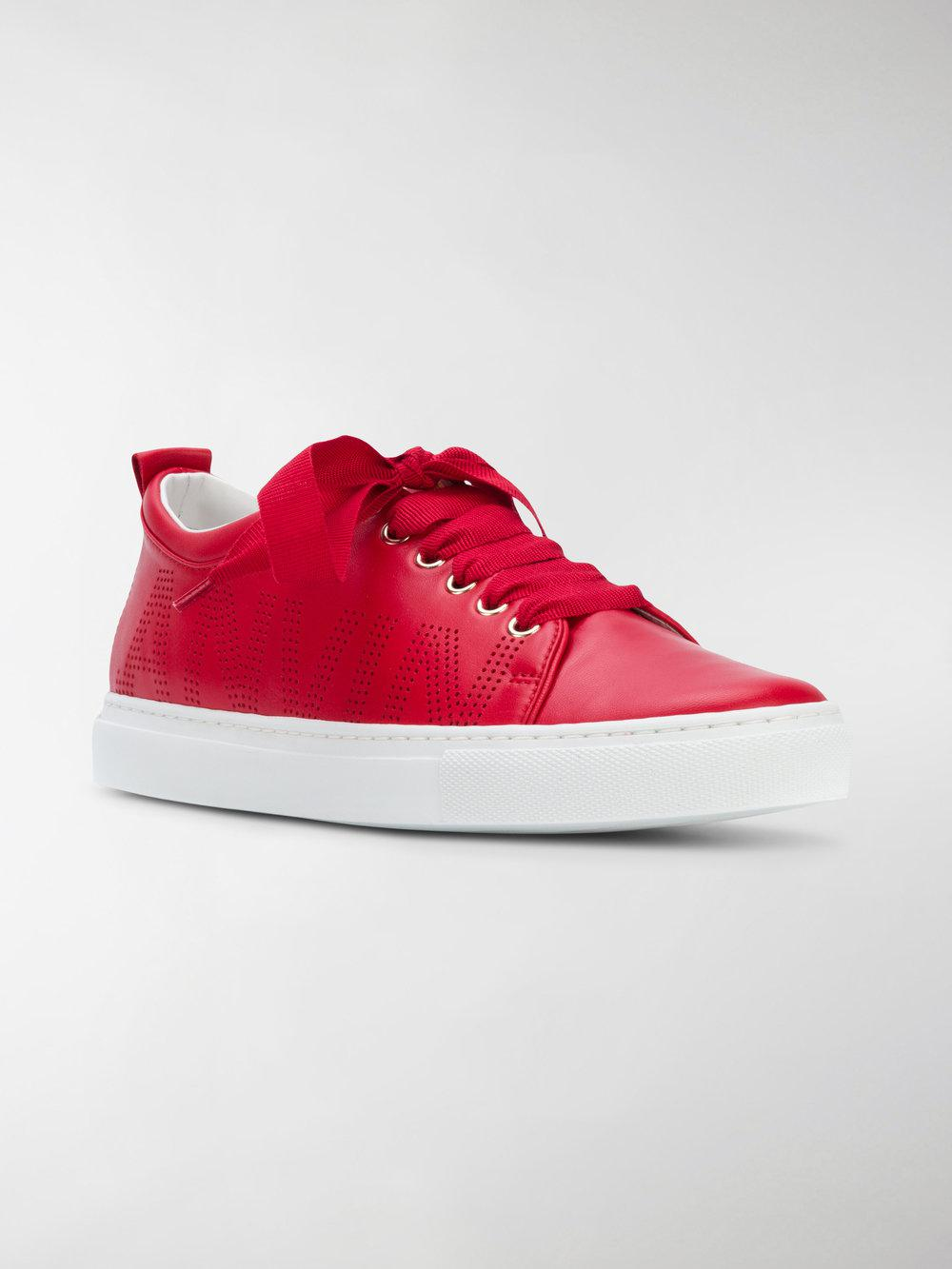 lace-up sneakers - Red Lanvin zp49lwl