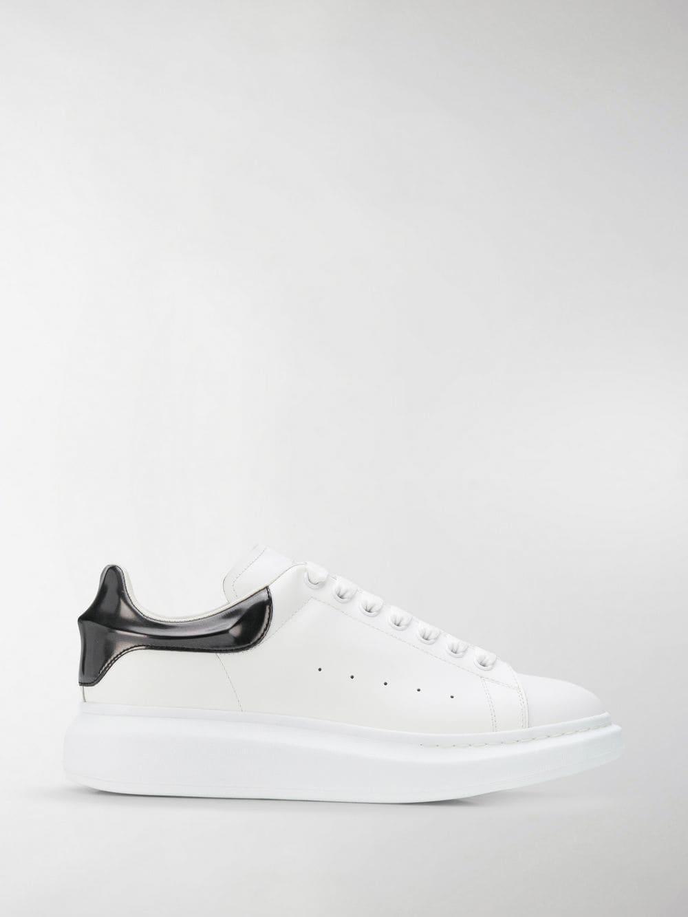 9f79558046b41 Lyst - Alexander McQueen Oversized Sole Sneakers in White for Men