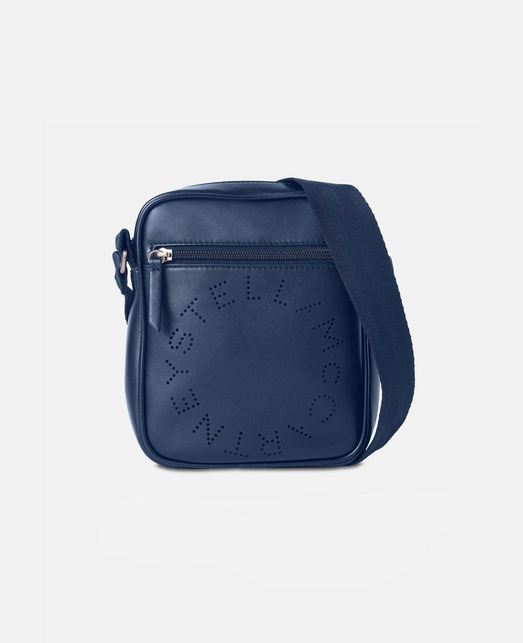 d56906167f07 Stella McCartney - Blue Stella Logo Messenger Bag for Men - Lyst. View  fullscreen