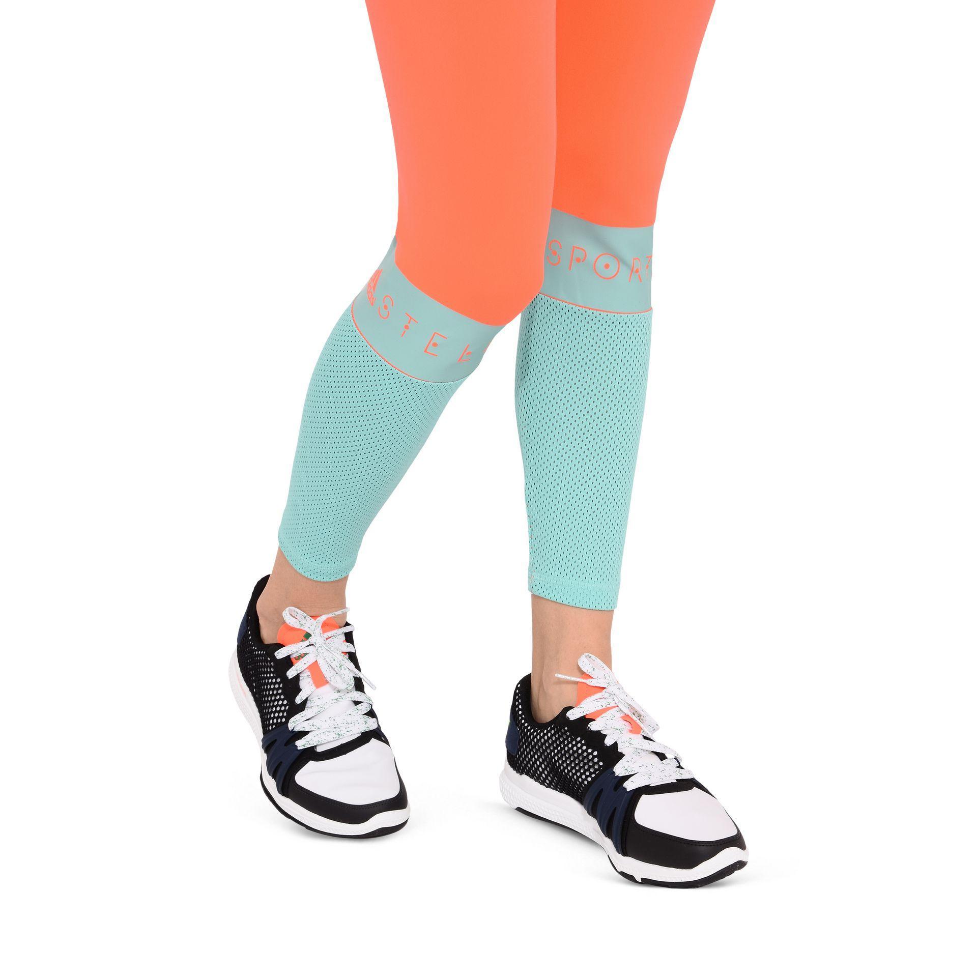 Adidas de stella Adidas mccartney Orange Bicolour rojo Long Leggings en stella rojo | ab1d755 - amningopskrift.website