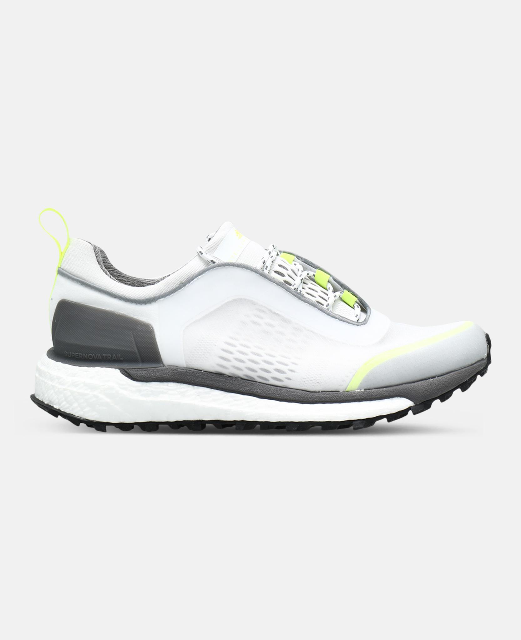 1c5754ce4d944 Lyst - adidas By Stella McCartney White Supernova Trail Footwear in ...