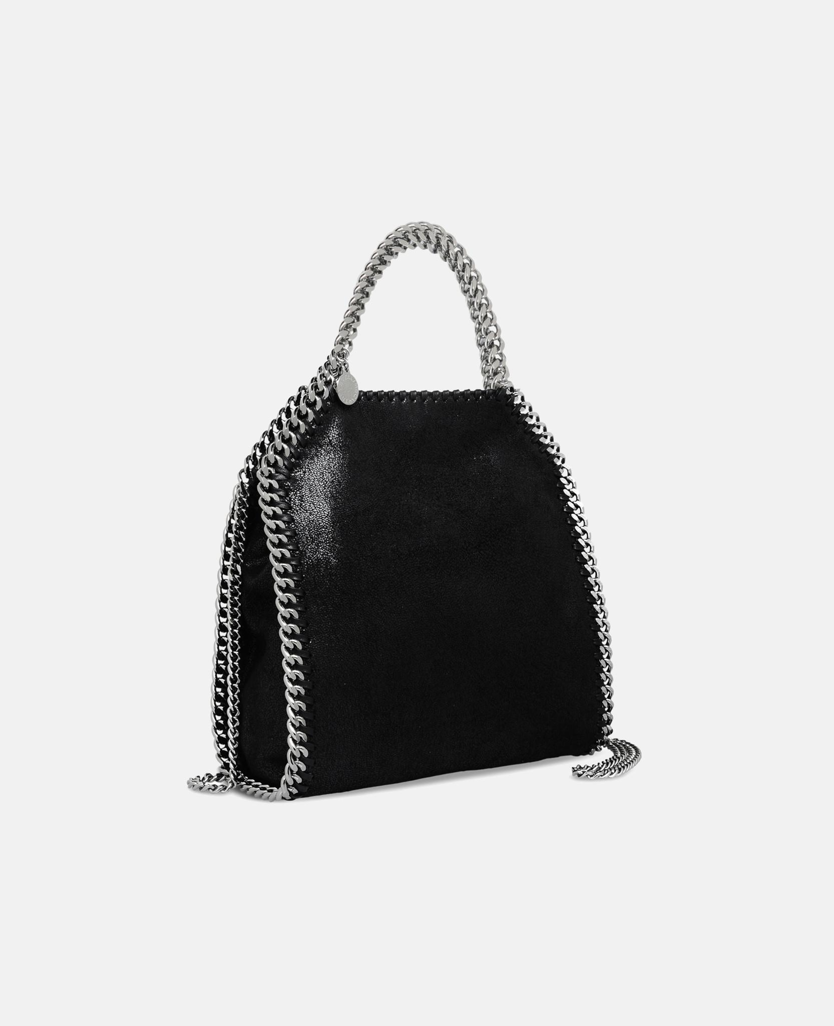 40f5c76d799d Stella McCartney Mini Falabella Tote in Black - Lyst