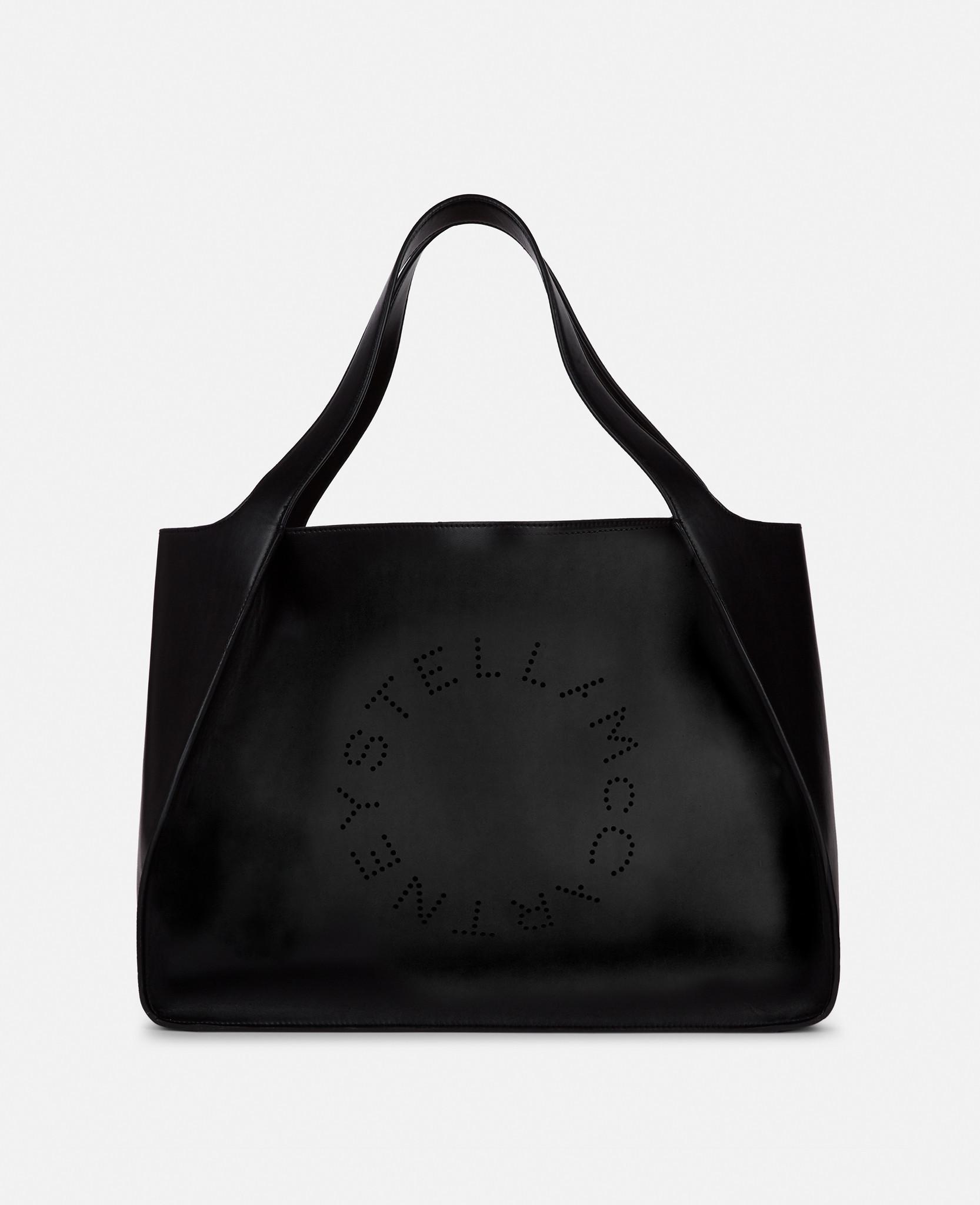 Stella Mccartney Oversize Alter Sac Logo Est Stella Ouest Fourre-tout En Cuir Nappa Éco Blanc L5uB7tBKG