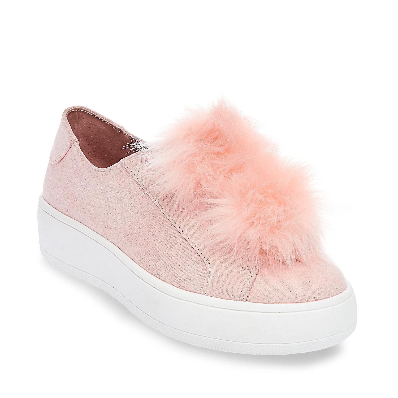 Steve Madden BRYANNE - Slip-ons - pink nhb1SwI