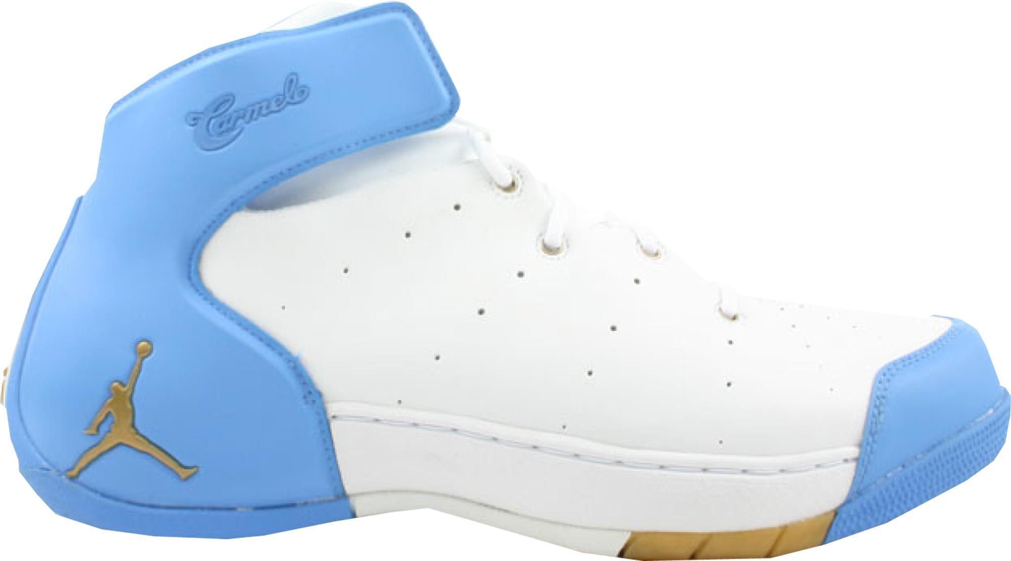 6cf97cad Nike Melo 1.5 White University Blue Og in White for Men - Lyst