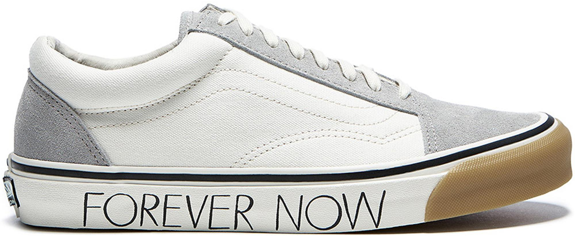 e61bae3865 Lyst - Vans Old Skool Wood Wood Forever Now in White for Men