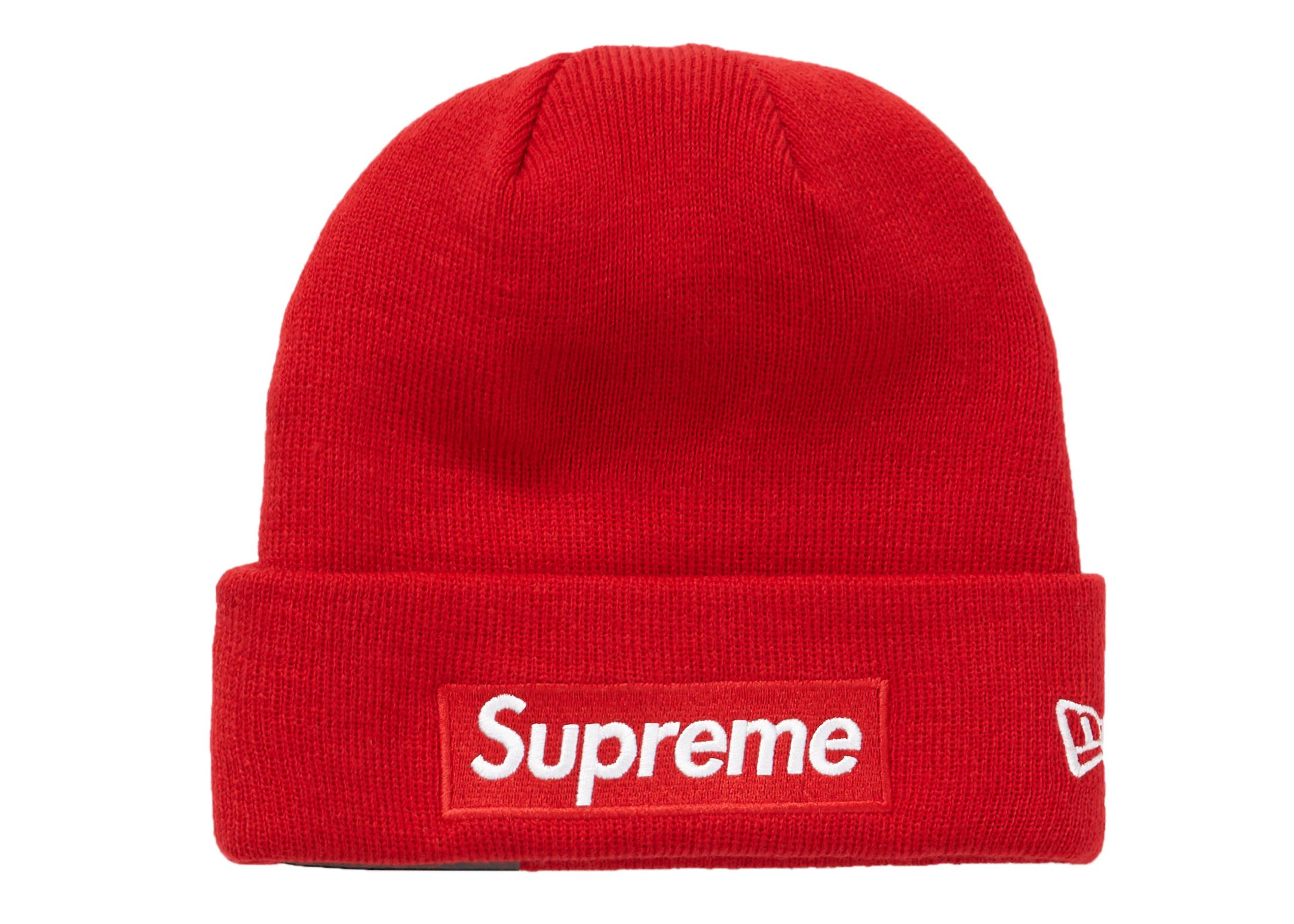 23e3b842c630e Supreme - New Era Box Logo Beanie (fw18) Red for Men - Lyst. View fullscreen
