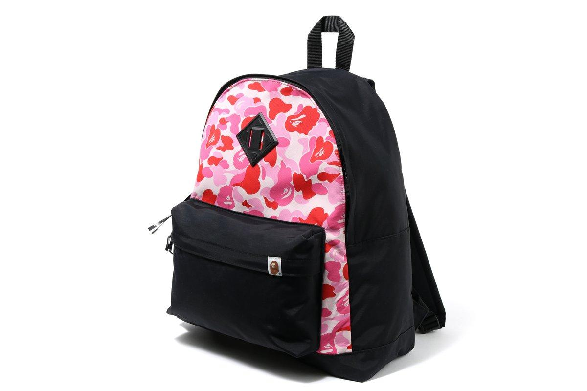 259d72c5657315 Lyst - A Bathing Ape Abc Day Pack Black pink for Men - Save 2%