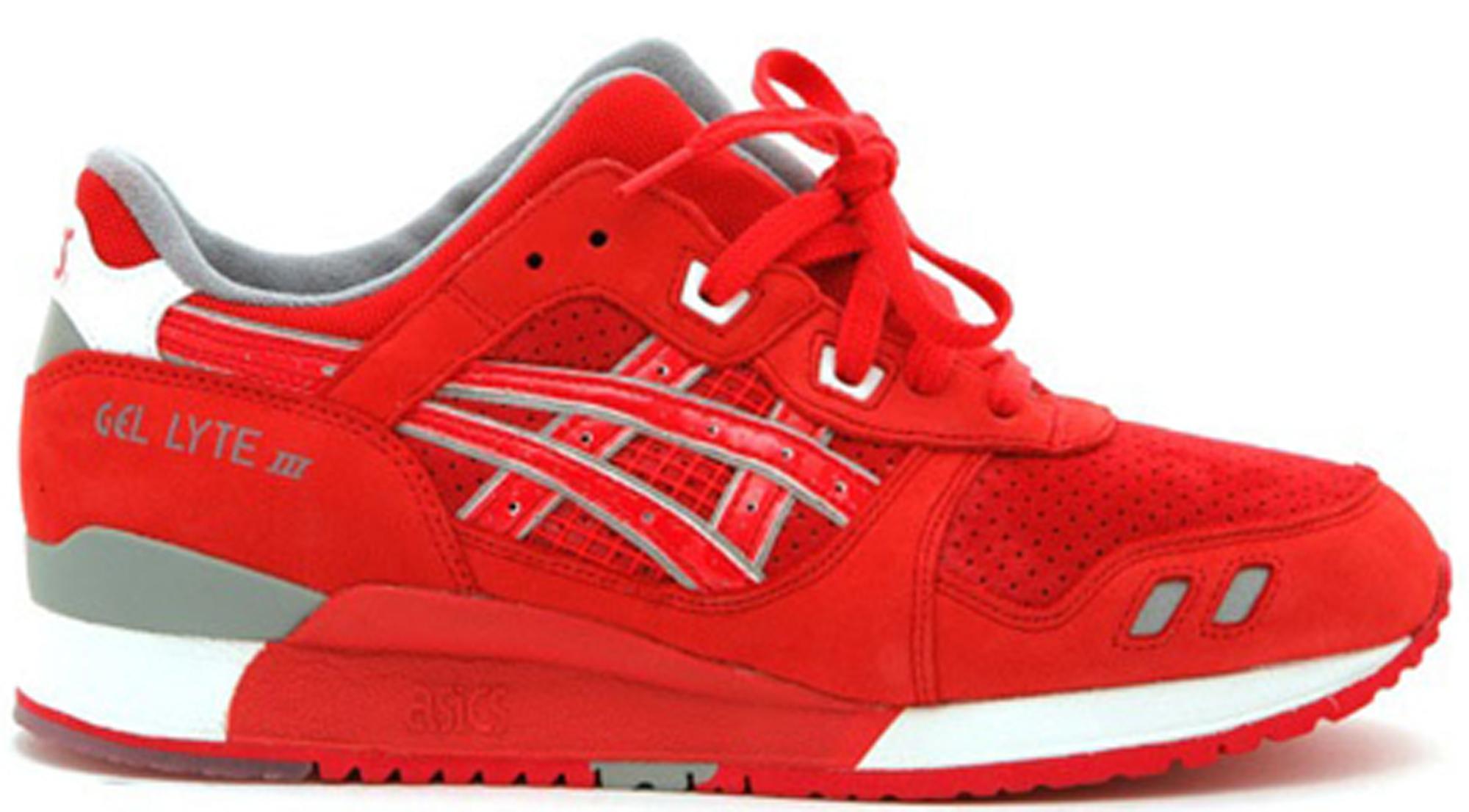 176bf597b03164 Lyst - Asics Gel-lyte Iii Ronnie Fieg X Nice Kicks 1.0 in Red for Men