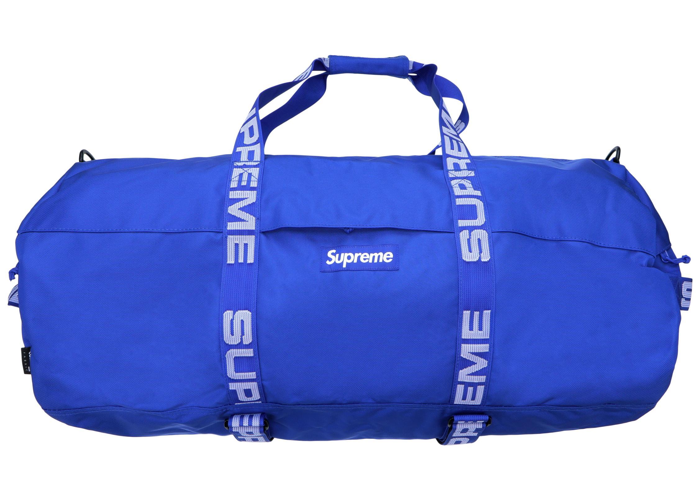8c09ce5fca06 Supreme - Blue Duffle Bag (ss18) Royal for Men - Lyst. View fullscreen