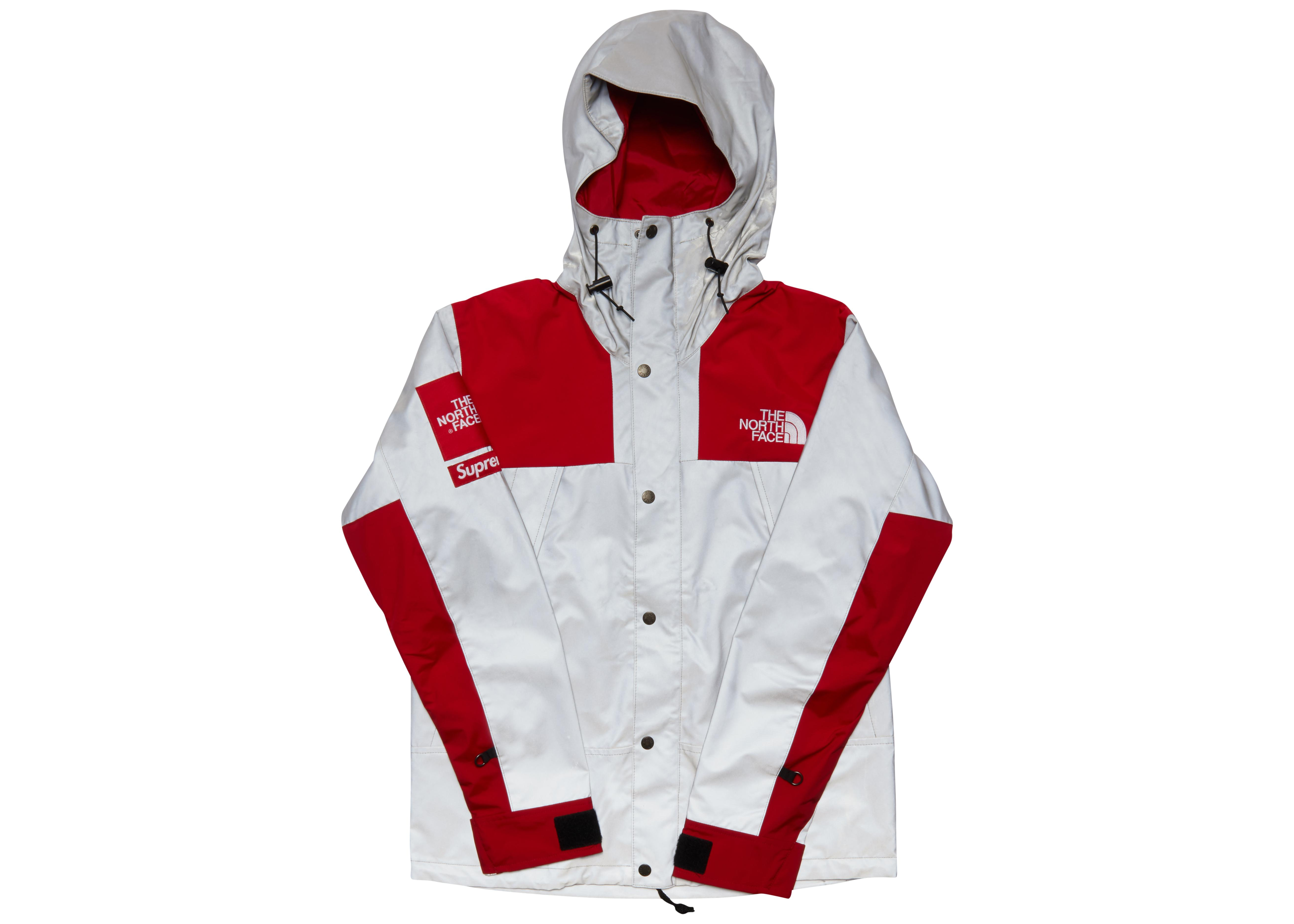 Lyst - Supreme The North Face 3m Reflective Mountain Jacket Red in ... 7ee30c5a4