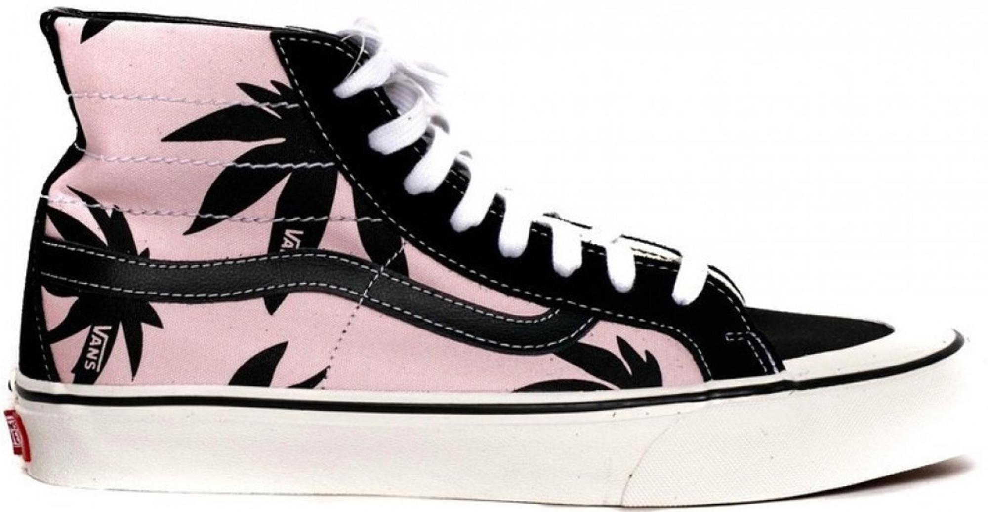 ea47dd78fb Long-Touch to Zoom. Vans - Sk8-hi 138 Decon Summer Leaf Pink Black for Men  - Lyst. View fullscreen