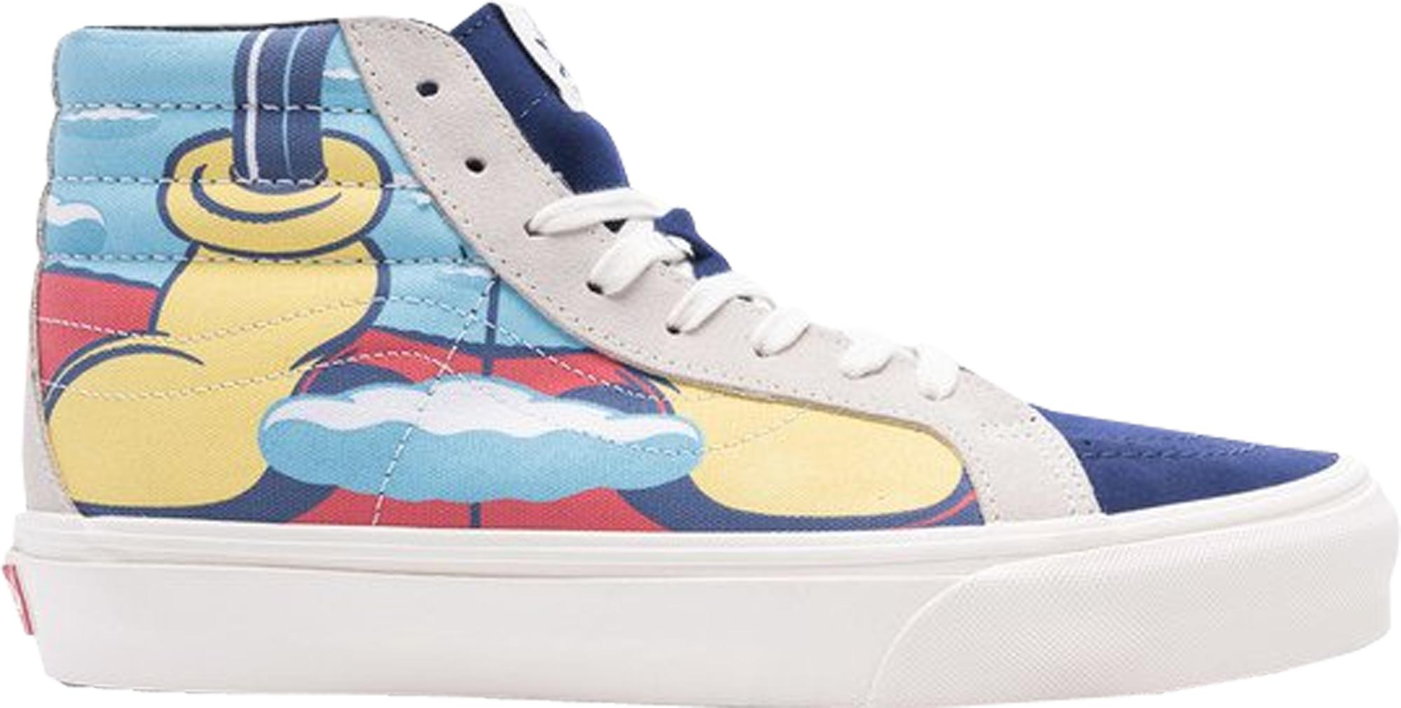 3351a27ba77b91 Lyst - Vans Sk8-hi Disney X John Van Hamersveld in Blue for Men ...