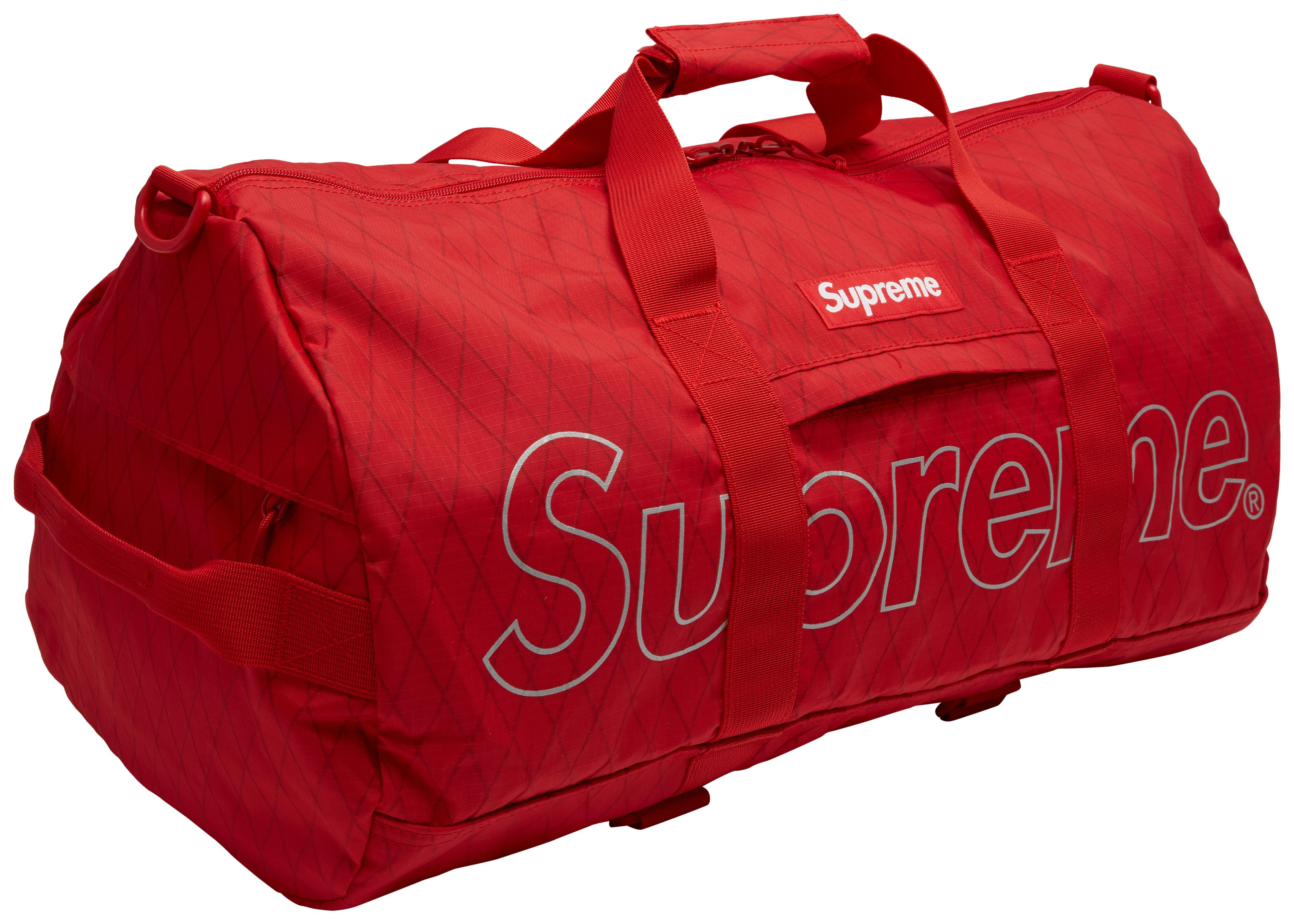 01f67d35e29d Supreme - Duffle Bag (fw18) Red for Men - Lyst. View fullscreen
