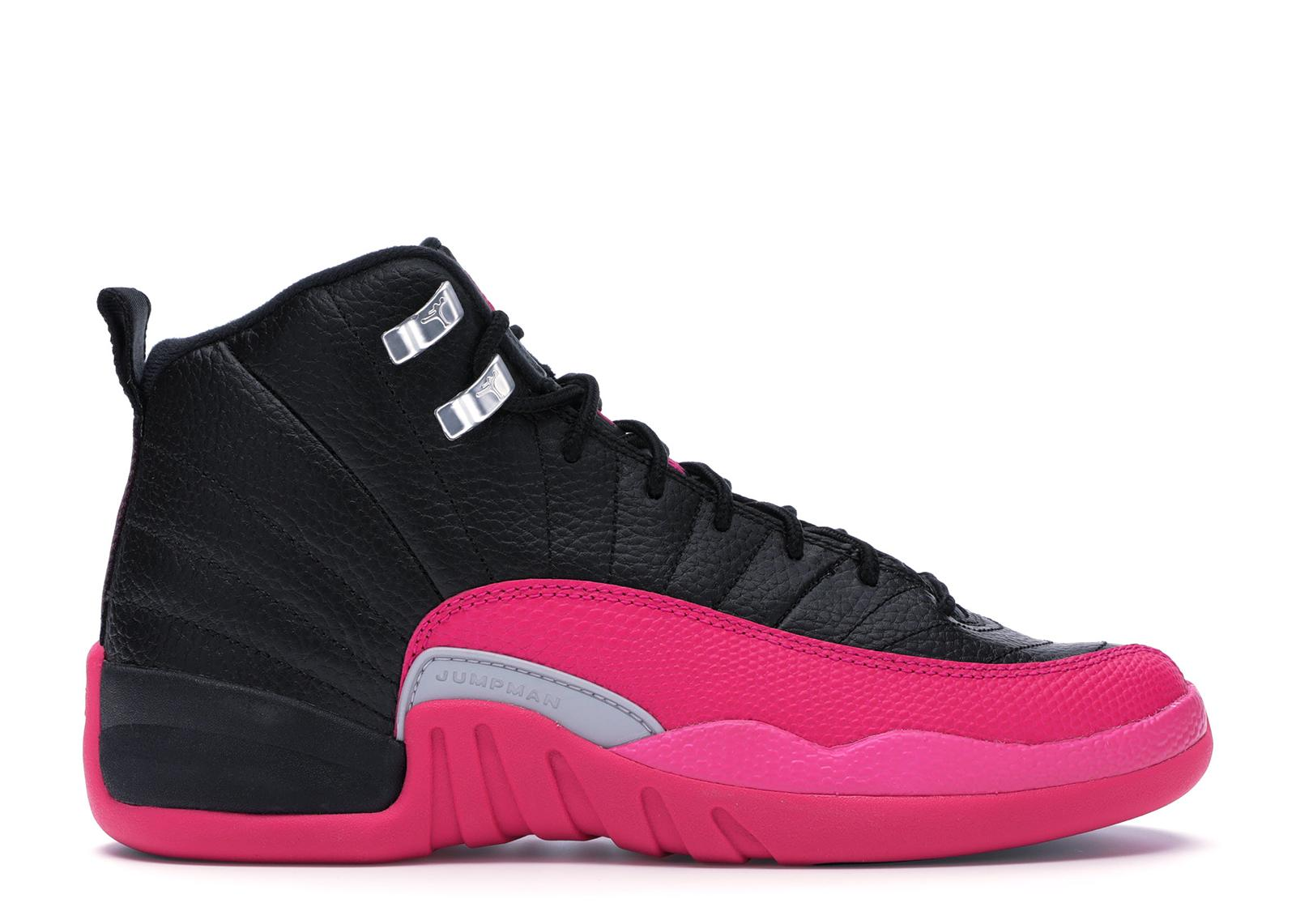 e232b57b8835 Lyst - Nike 12 Retro Black Deadly Pink (gs) in Pink for Men