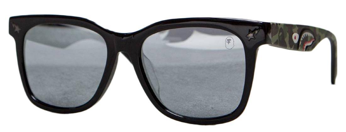 4258e84b11bf A Bathing Ape Parkas0 Sunglasses Camo in Black - Lyst