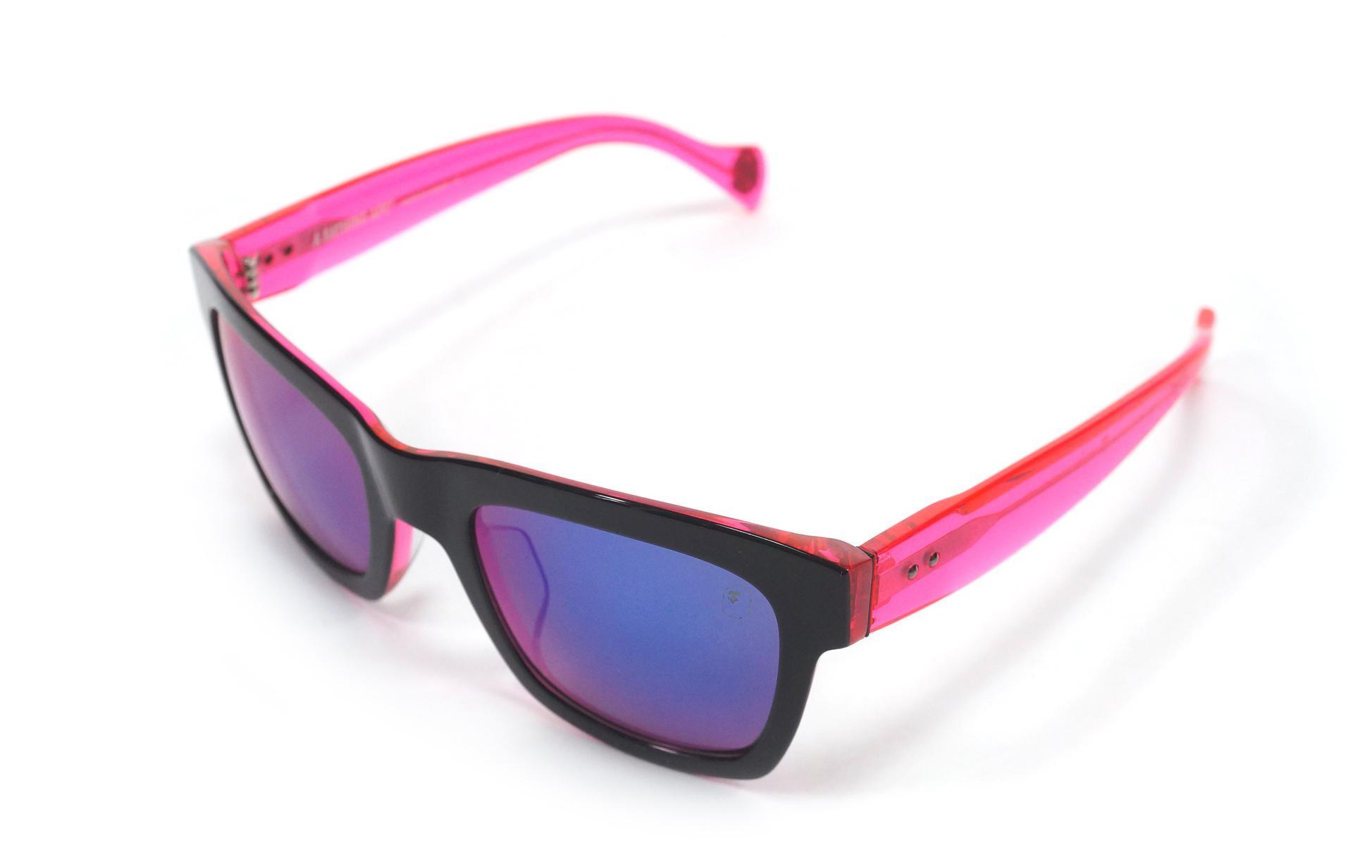 2aca54365ab Lyst - A Bathing Ape Eyewear Sunglasses 07 Neon Pink in Pink for Men