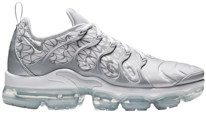 Nike Air Vapormax Plus Silver White For Men Lyst