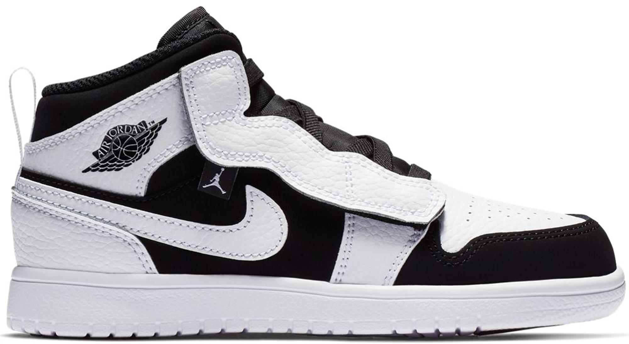 7dccc85d264e Lyst - Nike 1 Mid Alt White Black (ps) in Black for Men