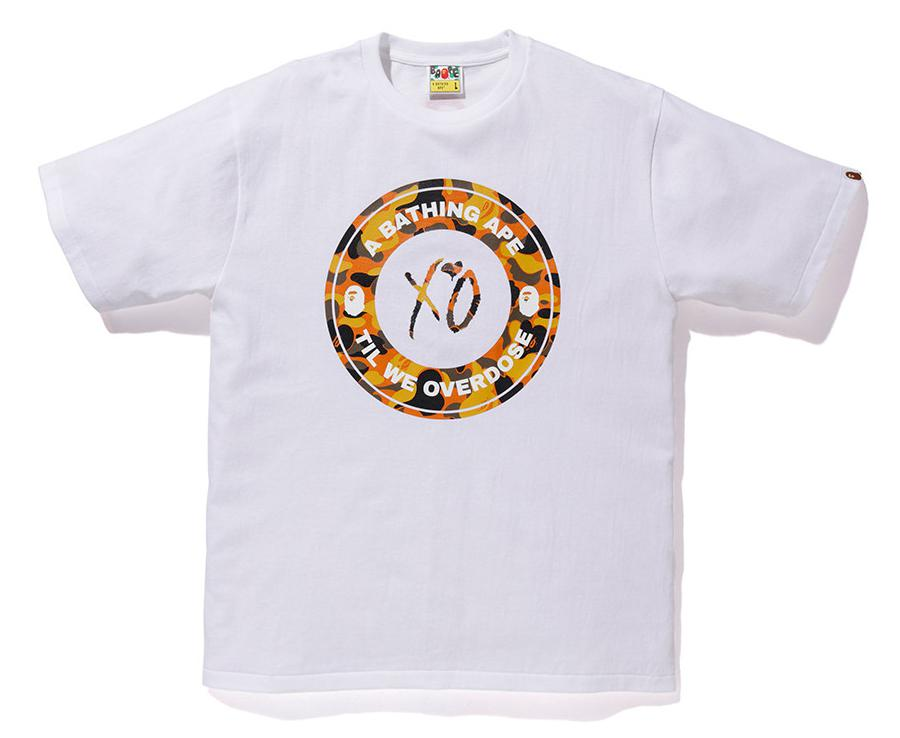 07ca71d2 Lyst - A Bathing Ape X Xo Busy Works Tee White in White for Men