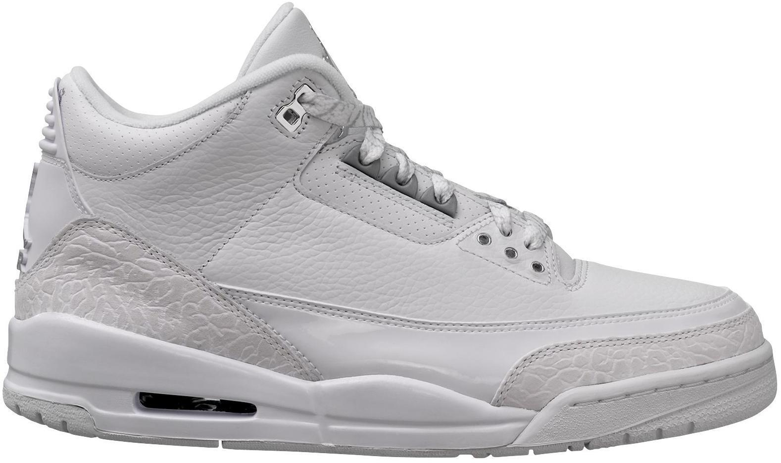 reputable site dd6f0 474e9 Nike. Men s Metallic 3 Retro Pure Money