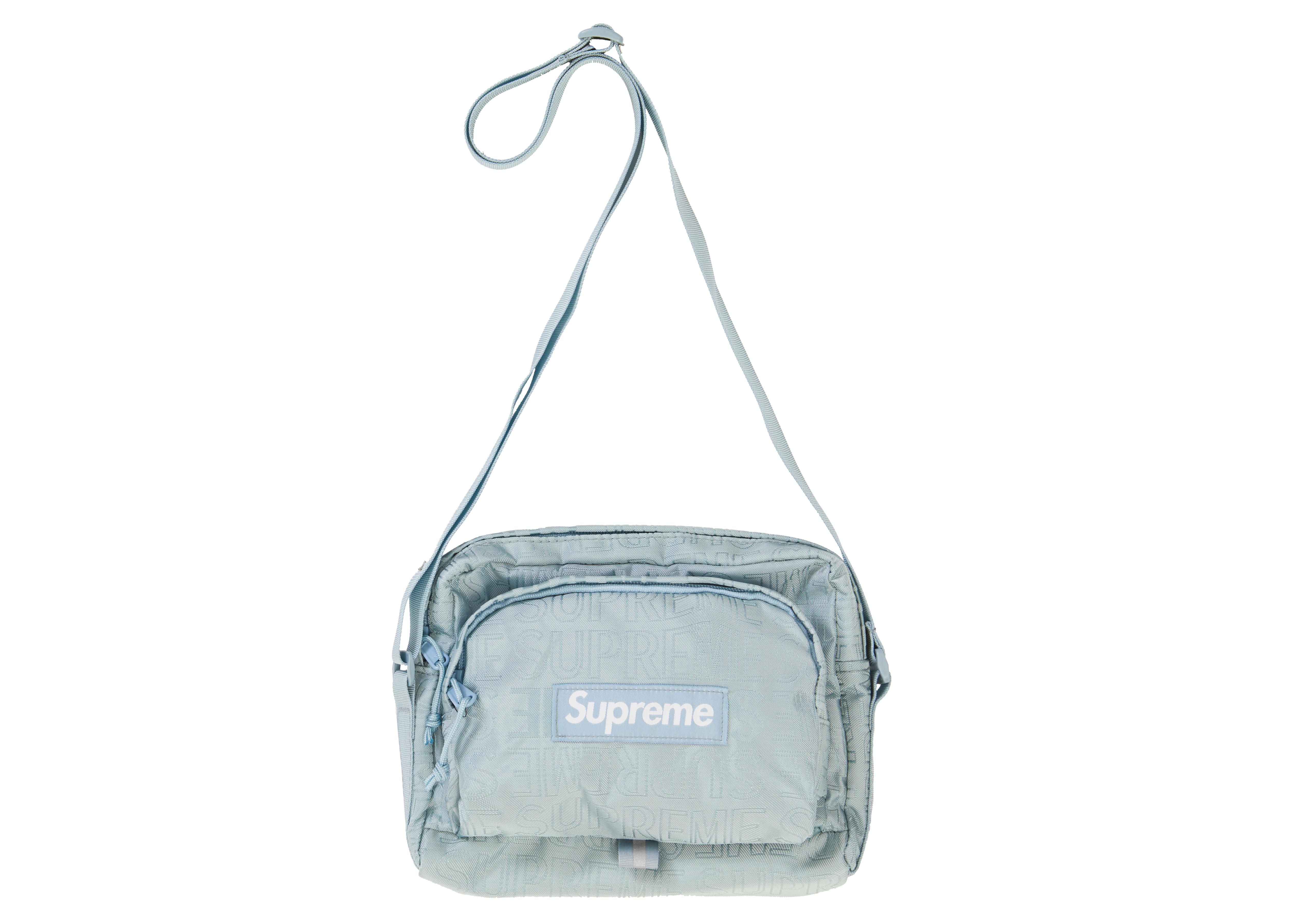 74db6026 Supreme Shoulder Bag (ss19) Ice in Blue for Men - Lyst