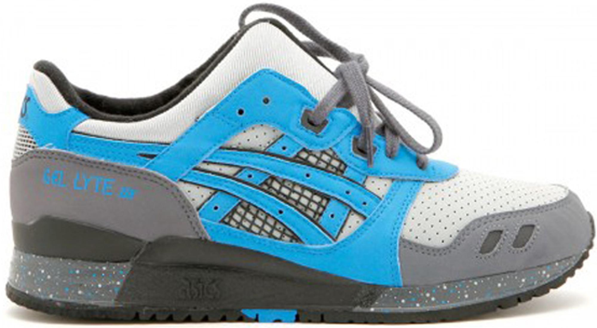 Lyst - Asics Gel-lyte Iii David Z X Ronnie Fieg Super Blue in Blue ... 2357d9c94e
