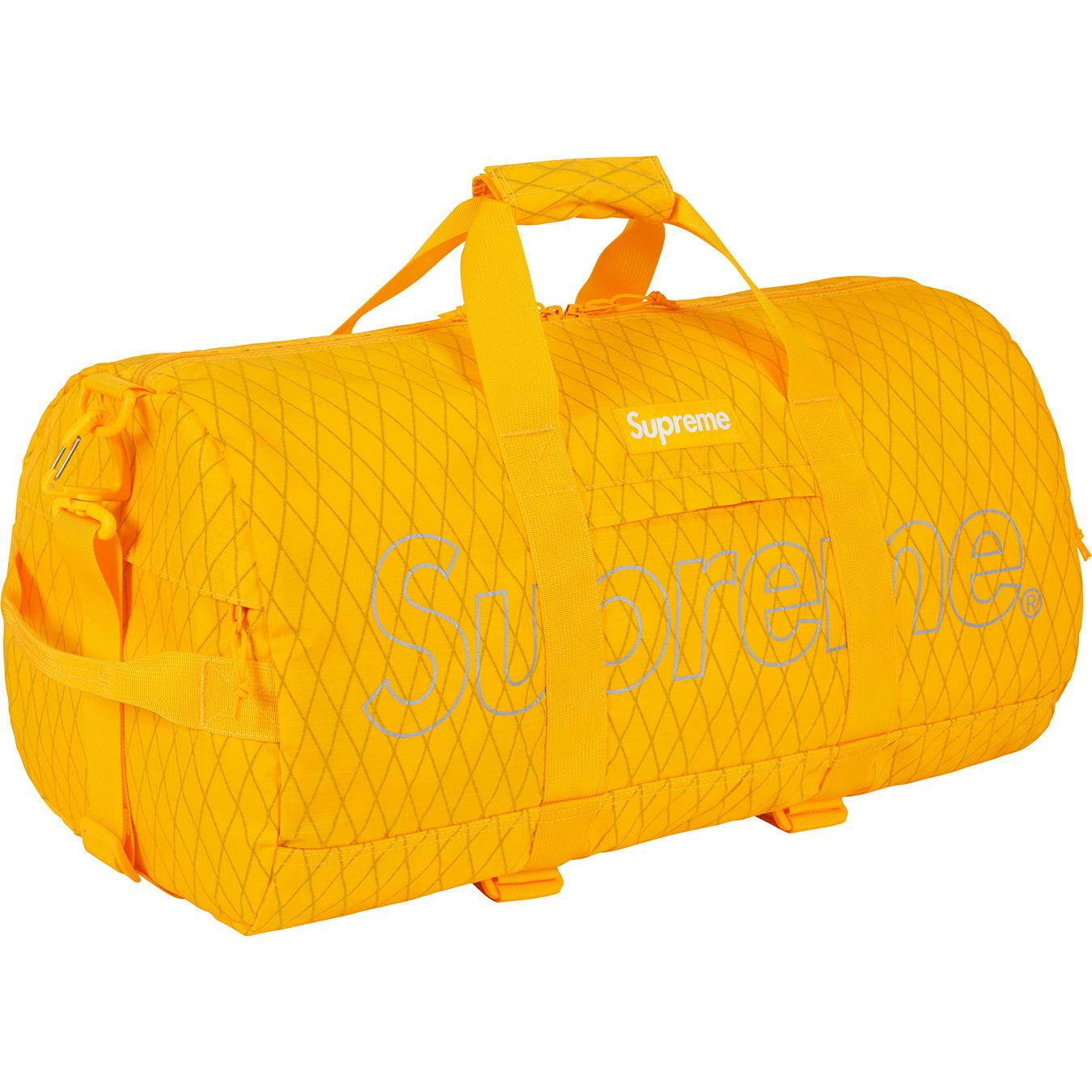 1d5b35cd1d5c Supreme - Duffle Bag (fw18) Yellow for Men - Lyst. View fullscreen