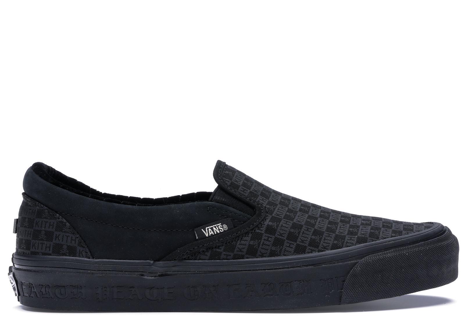 08404a9b8e9 Lyst - Vans Slip-on Kith X Mastermind Japan Black in Black for Men
