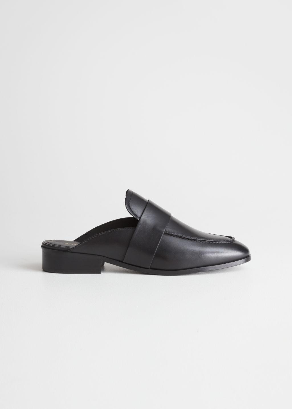 029cb019a22 Lyst -   Other Stories Slip-on Loafers in Black