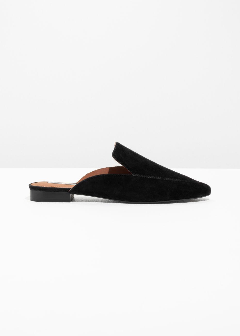 5028eae4e3b Lyst -   Other Stories Slip On Loafer in Black