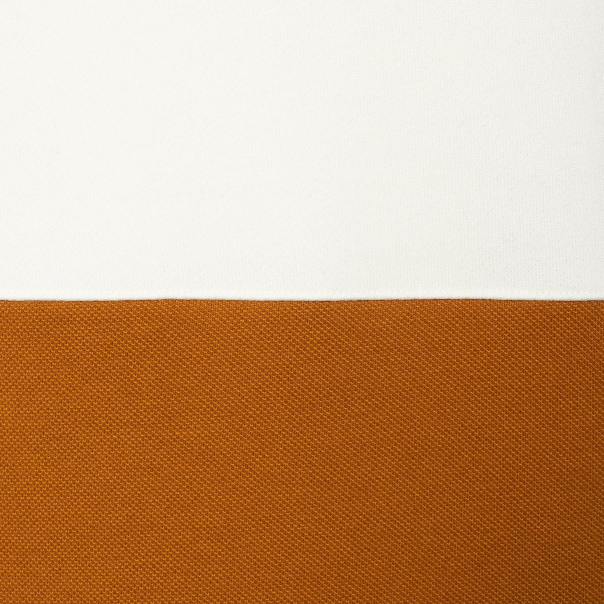 7fb564dc8609 Lyst - Lacoste Cream   Gold Colourblock Sweatshirt for Men