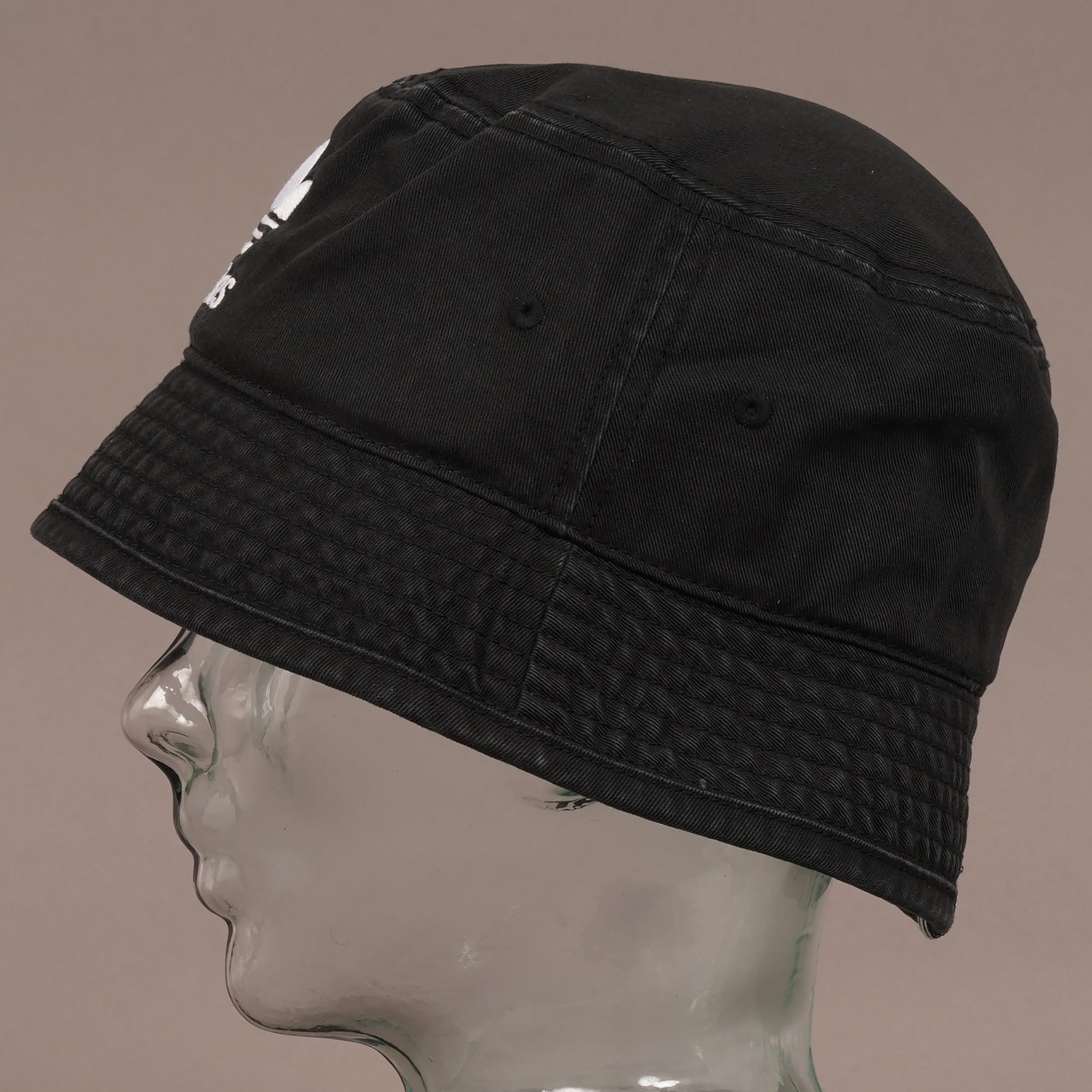 44fb8987d30 Adidas Originals Trefoil Bucket Hat Black In For Men Lyst