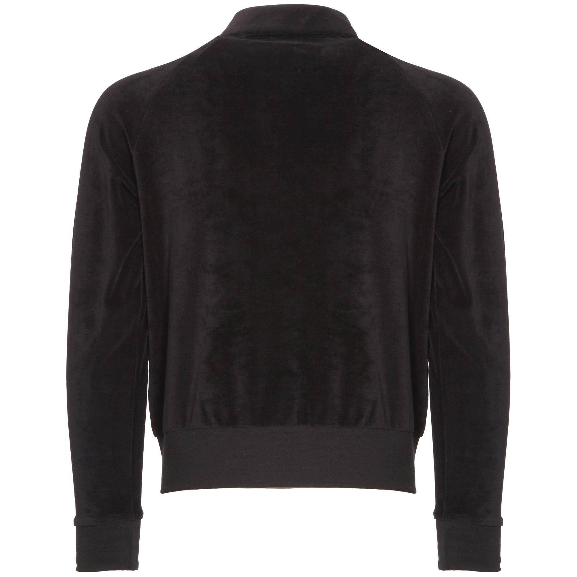 Fred Perry X Miles Kane Velour Track Top In Black For Men Lyst Jaket Tracktop Rsch Premium Gallery