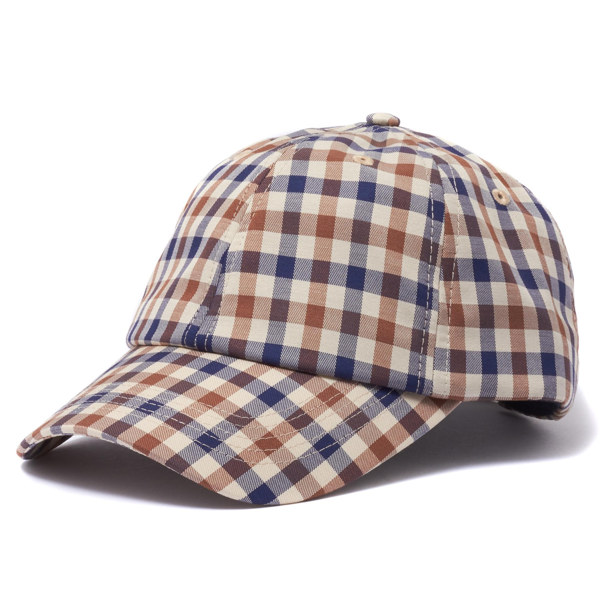 1c9516dd137 Aquascutum Vicuna Mason Club Check Cap for Men - Save 40% - Lyst