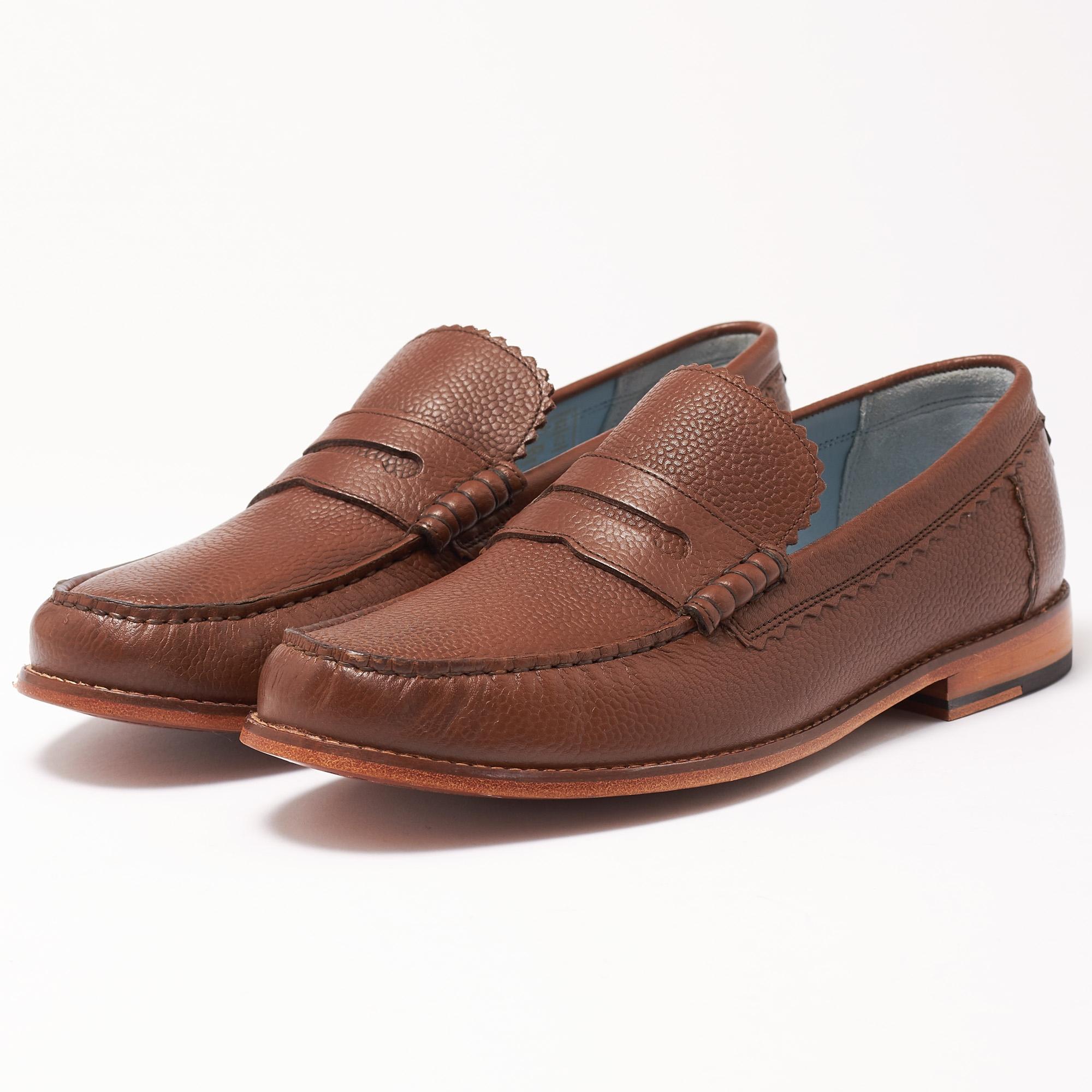d87b9c944af Lyst - Grenson Ashley Dark Brown Loafer Shoe in Brown for Men